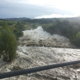 Maltempo, sette persone evacuate a San Prospero, poi rientrate
