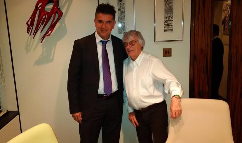 Il sindaco di Imola, Daniele Manca, vola a Londra per riconquistare la Formula 1