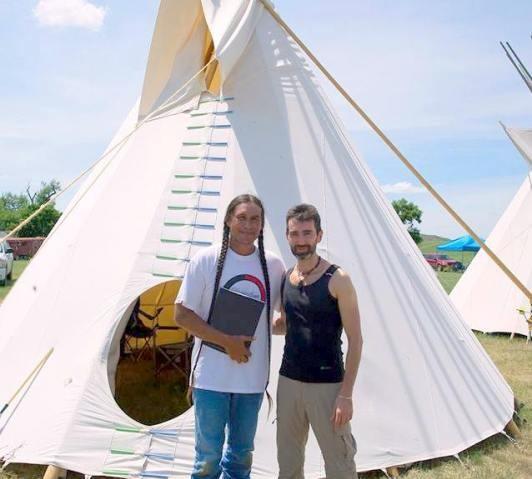Dozza tra i Lakota Sioux