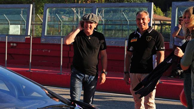Brian Johnson e quella passione per l'Autodromo di Imola…