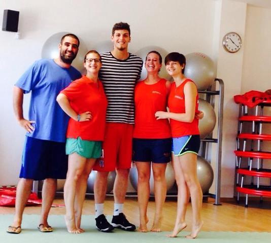 I grandi campioni dello sport imolese in visita all'impianto Ortignola