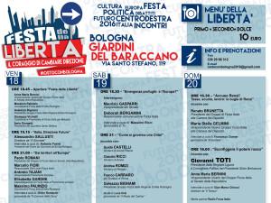 Programma Festa della Liberta