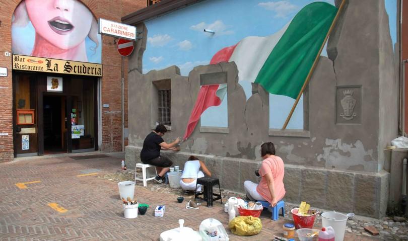 Come ti restauro un Muro Dipinto. Alla scoperta dei segreti della XXV Biennale di Dozza