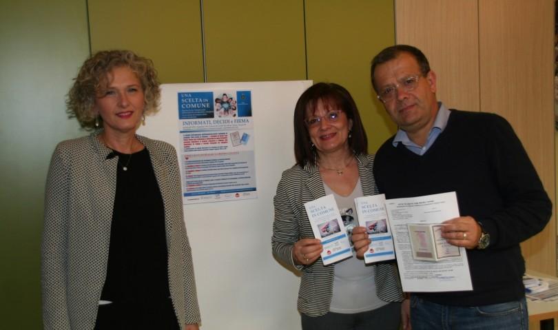 Il Sindaco Tinti sceglie la donazione degli organi al rinnovo della carta di identità