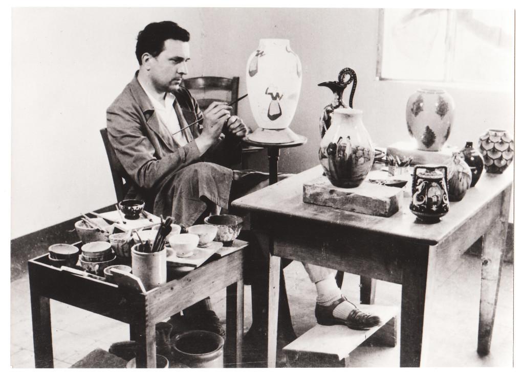 Ai musei civici le preziose ceramiche di umberto marfisi for Ceramiche di imola