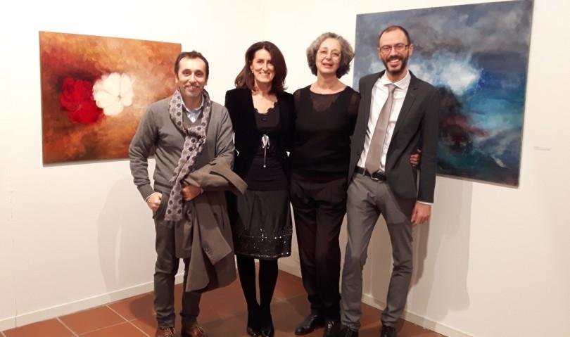 Odore di rose e di salsedine: inaugurata la mostra di Anna Ramenghi e Laura Mascardi