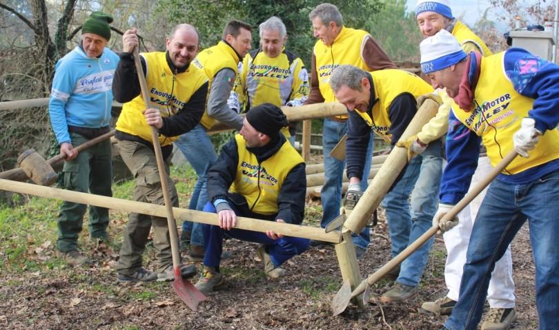 Il parco Conca Verde rinasce grazie ai volontari