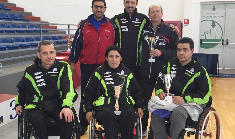 """""""Sport è Vita Montecatone"""" sul podio in Sicilia"""