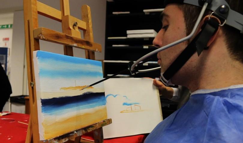 Laboratori d'arte per i ricoverati di Montecatone: quando la creatività diventa percorso riabilitativo