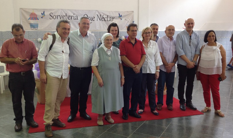 Una grande rete di solidarietà per aprire una gelateria a Sao Bernardo