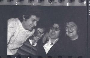 ORBIT seconda formazione 1970 Sandro Bettini ,Franco Bianconcini,Valter Galavotti, Paolo Gollini