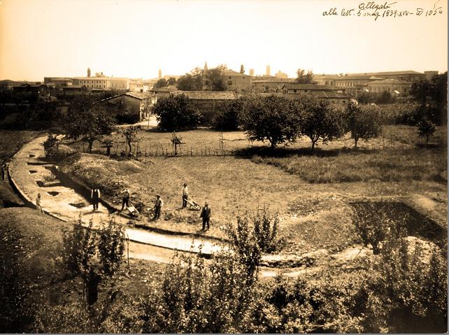 L'anfiteatro romano di Imola raccontato in due nuovi pannelli
