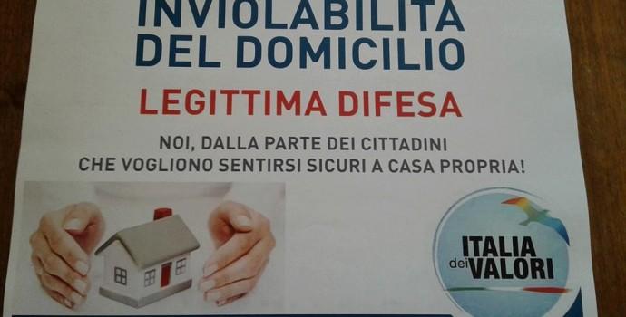 Legittima difesa: boom di firme in tutta Italia. Grande affluenza anche a Imola