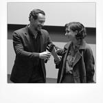 Luca Martignani e Matilda De Angelis (Luca Martignani Comunicazione)