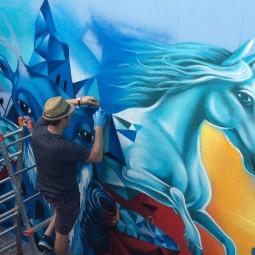 """Dal 22 al 24 settembre torna """"Restart"""", il festival di arte urbana"""