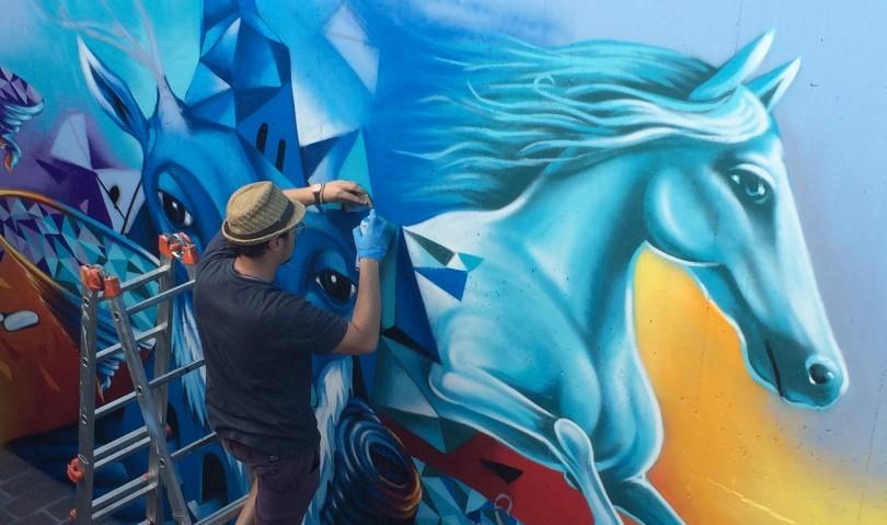 """""""Muri liberi"""", aumentano a Imola gli spazi per i giovani writers"""