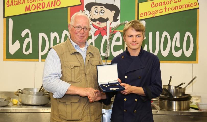 Sagra dell'agricoltura: lo chef Alessandro Bucchi vince la prova del cuoco