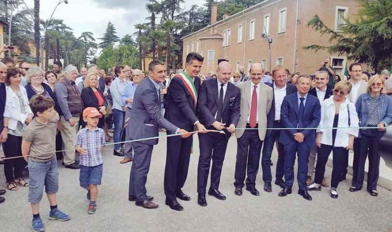 Inaugurata la pista ciclabile Imola-Toscanella