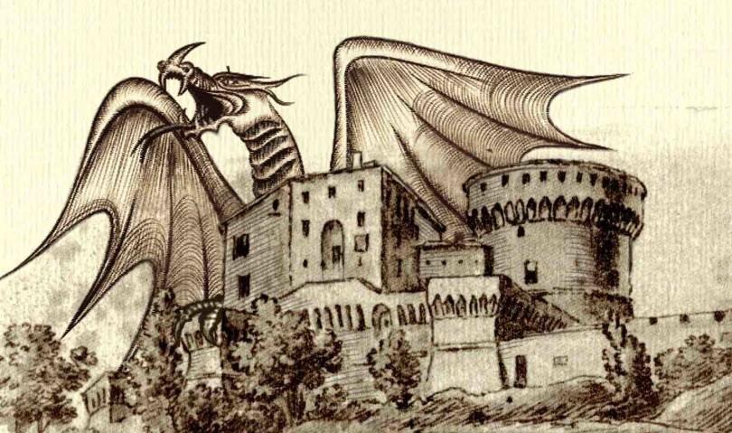 Nella Rocca di Dozza nascerà un drago