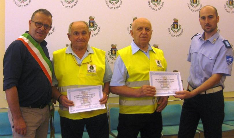 Città sicura: tre nuovi volontari entrano in servizio