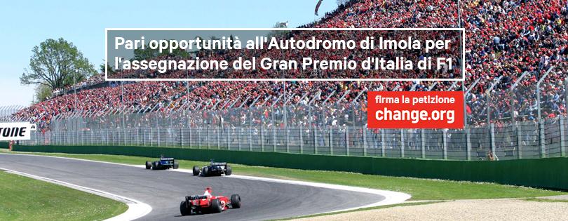 """Gp d'Italia, """"a Imola sia data la stessa dignità di Monza"""". Parte la petizione su change.org"""
