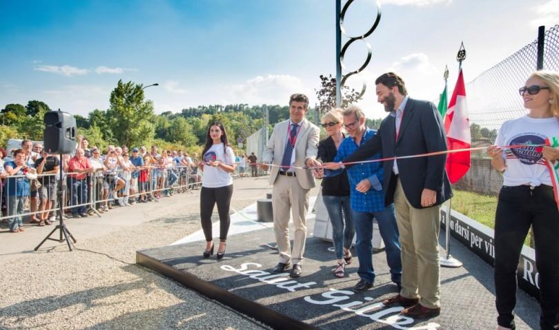Inaugurato il memoriale dedicato a Gilles Villeneuve