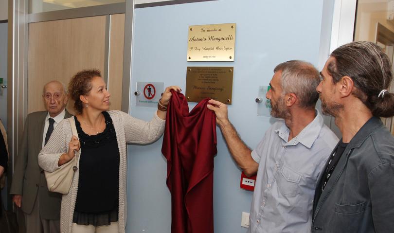 Al Day Hospital Oncologico una targa in memoria di Marina Sangiorgi