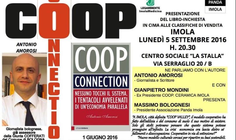 Coop Connection, il libro choc sul mondo della cooperazione sarà presentato anche a Imola