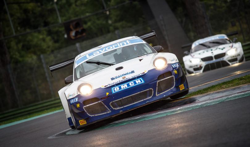 Tarabini conquista la pole nella coppia Italia GT del Peroni weekend