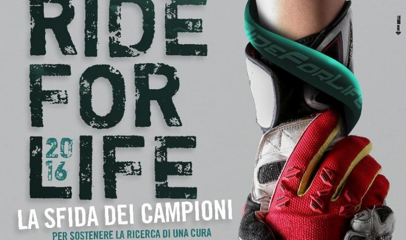 """Sfida tra campioni all'insegna della solidarietà per la settima edizione di """"Ride for Life"""""""