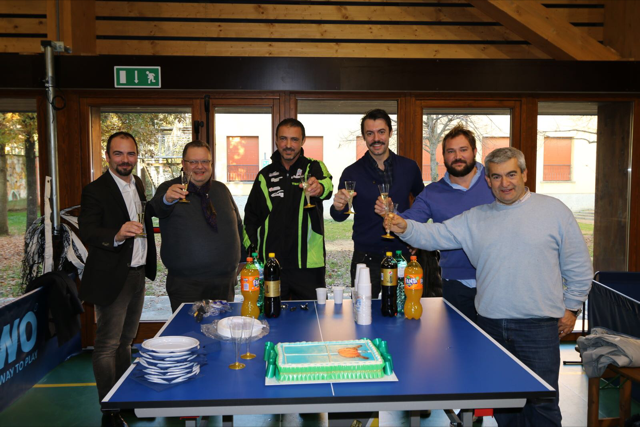 Tennis tavolo alla palestra Marconi di Imola