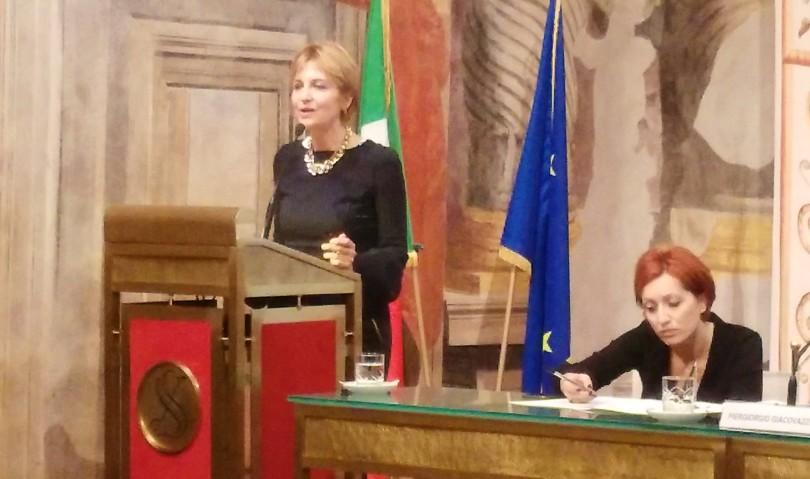 La parità di genere raccontata al Senato da Paola Lanzon