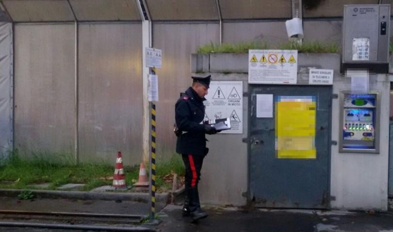 Imola, i carabinieri sventano furto all'autolavaggio. Arrestato 23enne