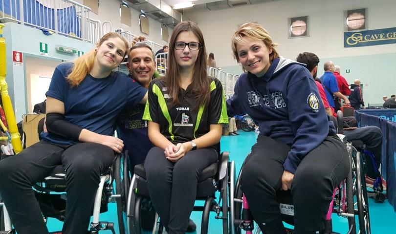 """Terzo posto per """"Sport è vita Montecatone"""" al secondo torneo nazionale di tennis tavolo"""