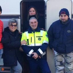 Da Dozza a Ussita: la solidarietà viaggia in roulotte