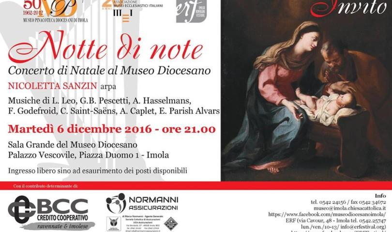 Notte di Note al Museo Diocesano il 6 dicembre