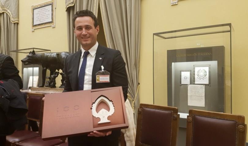 Cefla tra le 100 eccellenze italiane. Premiazione a Montecitorio