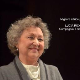 L'imolese Lucia Ricalzone premiata ad Agrigento come miglior attrice protagonista