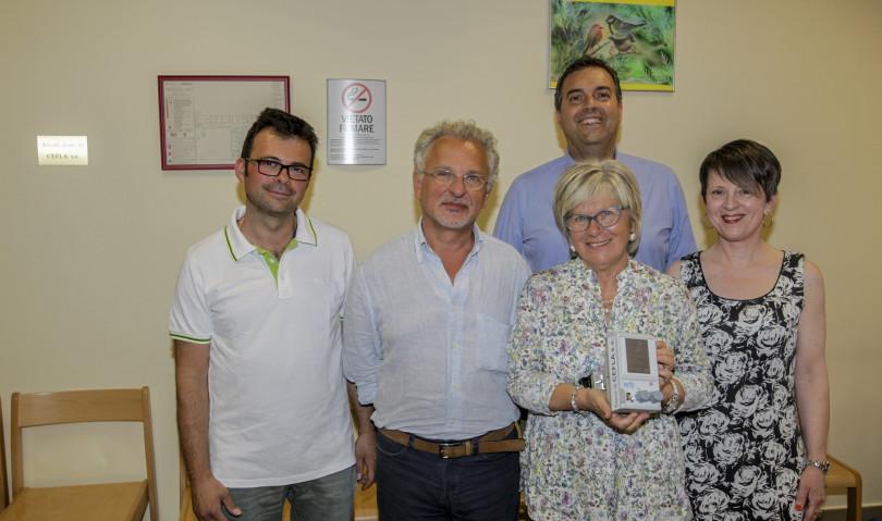 La Cefla dona nuovi arredi e un dispositivo per la ventilazione all'Ospedale