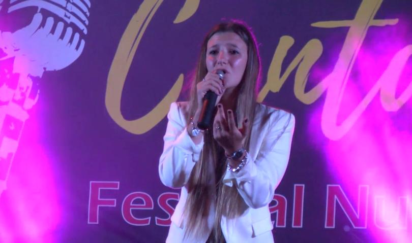 Giulia Toschi, vincitrice del Canta Rio 2017, in finale a Castrocaro