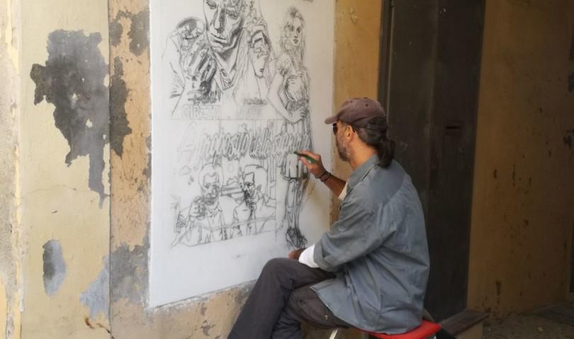 Muro dipinto, scuola e inclusione nel mercoledì di Toscanella