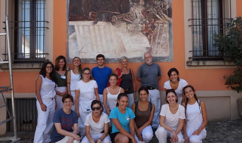 Muro Dipinto, al via il restauro di un affresco con l'Accademia delle Belle Arti