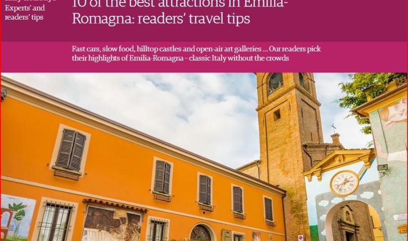 """La rivista """"The Guardian"""" inserisce Dozza tra le dieci migliori attrazioni della Regione"""