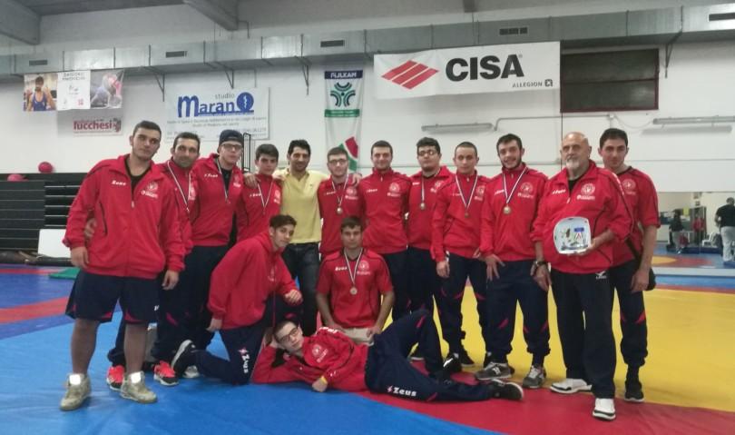 L'Unione Sportiva Imolese Lotta vice-campione dell'Emilia Romagna