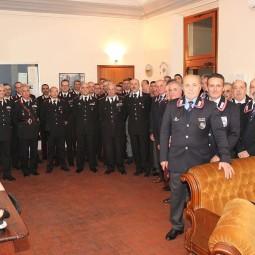 """Visita del Comandante Interregionale Carabinieri """"Vittorio Veneto"""" Generale di Corpo d'Armata Aldo Visone"""