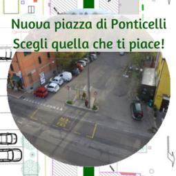 Nella frazione di Ponticelli si vota per decidere la collocazione del parcheggio