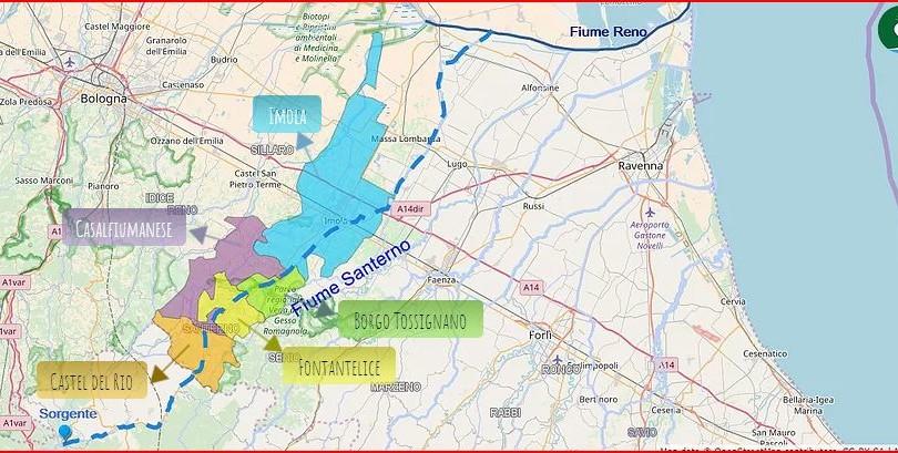 Ciclopista lungo il Santerno, bando di gara entro il 15 ottobre