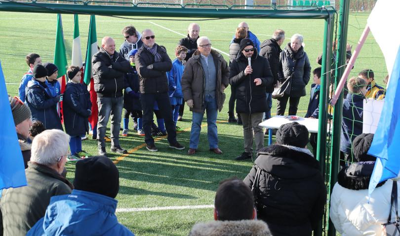 """Inaugurato il nuovo campo da calcio a 7 sintetico all'impianto """"Calipari"""""""
