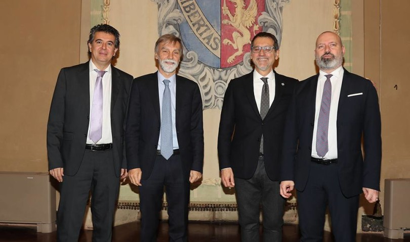 Delrio a Imola, sottoscritto protocollo per le infrastrutture strategiche della Città