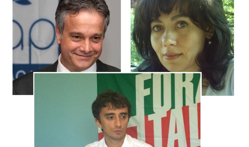 Centrodestra, i candidati del territorio